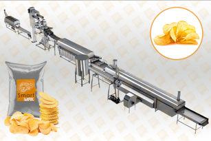 Natural Chips Production Line