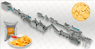 Frozen French Fries Production Line
