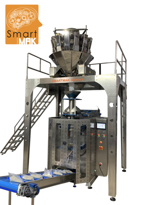 Frozen vegetables and fruits packing machine